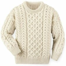 Mens / Ladies Traditional 100% Scottish Arran Wool Jumper - Made In Scotland