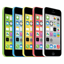 APPLE IPHONE 5C - 32GB (Unlocked GSM)-White Blue Green Pink Yellow BRAND NEW !!