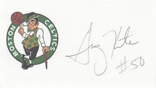 Greg Kite Boston Celtics 2x NBA Champ SIGNED 3x5 CARD AUTOGRAPHED