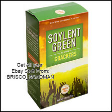 Fridge Fun Refrigerator Magnet SOYLENT GREEN MOVIE Crackers Box 70s Sci-Fi Retro