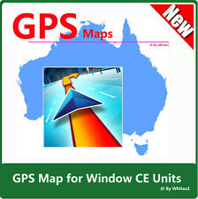 Australia & NZ Latest Map 2016 for WinCE Car GPS Units on Micro SD Card