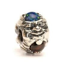 AUTHENTIC TROLLBEAD TROLL WITH GEMS, SILVER 51711 TROLL CON GEMME, ARGENTO
