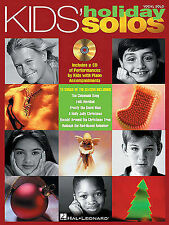 Kids' Holiday Solos: Vocal Solos with Online Audio by Hal Leonard Publishing...