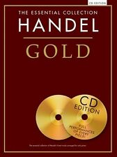 The Essential Collection Handel Gold Play Classical Piano Music Book & CD