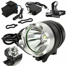 Elfeland 5000LM XML T6 LED Bicycle Bike Headlight Headlamp Torch Cycling SET