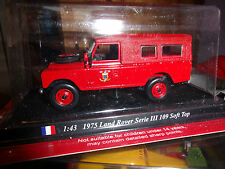 1975 LAND ROVER SERIE III 109 SOFT TOP  NEUF SS BLISTER