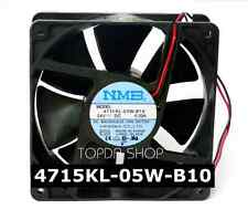 NMB 4715KL-05W-B10 Mute Inverter cooling fan DC24V 0.20A 120*120*38mm 2pin