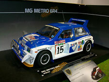 MG METRO 6R4 ROTHMANS #15 RALLY SAN REMO 1986 au 1/18 SUN STAR 5533 voiture