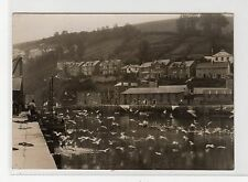 GULLS AND RIVER, LOOE: Publisher's photograph to produce postcards (C17524)