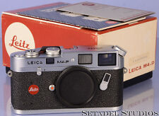 LEICA LEITZ M4-P RARE CHROME RANGEFINDER CAMERA BODY '888' SERIAL NUMBER MINT