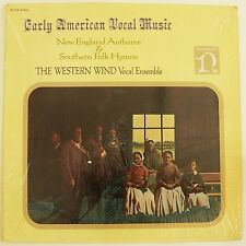 EARLY AMERICAN VOCAL MUSIC - New England Anthems & Southern Folk Hymns. LP VG++