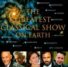 The Greatest Classical Show on Earth: Pavarotti, Solti, Placido Domingo, Chung +