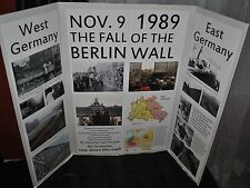 FALL OF THE BERLIN WALL DISPLAY PROJECT HELP YOUR CHILD GET A+ IN HISTORY CLASS