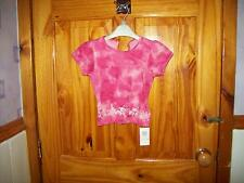 ***LOOK***  NEW M&S PINK DETAILED T-SHIRT 9-12 MTHS**