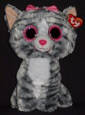 "TY BEANIE BOOS BOO'S - KIKI the 9"" CAT - MINT with MINT TAGS"
