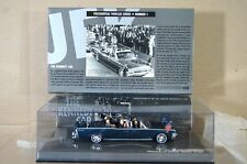MINICHAMPS 086100 LINCOLN CONTINENTAL 1961 X-100 KENNEDY PRÄSIDENTEN PARADE AUTO