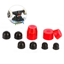 2Pcs Tera Red PU Longboard Skateboard Truck Bushings with Pivot Cups Set Kit New