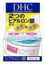 DHC Double Moisture cream Face skin care Hyaluronic acid 50g JAPAN