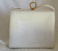 SALVATORE FERRAGAMO Vintage Box Framed Long Shoulder Bag Purse Crossbody-RARE!