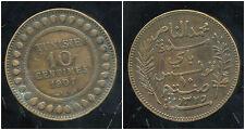 TUNISIE   10  centimes 1907   TTB