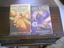 Jake Ransom-HOWLING SPHINX & SKULL KING, James Rollins, SIGNED/DOODLED 1st/1sts