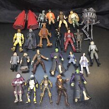 Star Wars Power of the Force Lot of 25 Loose Figures 1996 - 2007