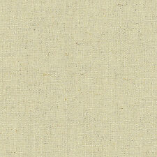 """LINEN COTTON UPHOLSTERY CURTAIN FABRIC VINTAGE CHIC NATURAL SOLID OATMEAL 54""""W"""