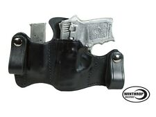 S&W 380 Bodyguard Insight Laser IWB Dual Snap Attached Mag Holder L/H Black 0531