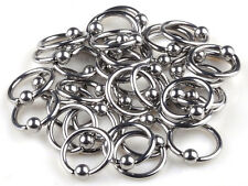 30pcs Wholesale Body Jewellery Lots 316L Surgical Steel Eyebrow Piercings Rings