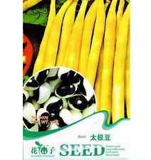 FD1239 Tai Chi Bean Seed Phaseolus Vulgaris China Rare Bean Seed ~1 Pack 15 Seed