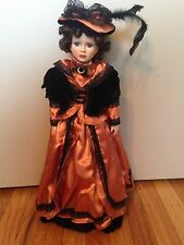 VINTAGE COLLECTIBLE PORCELAIN GENUINE HAND PAINTED DOLL