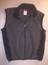 HELLY HENSEN Mens Lightweight Vest ~ Black/Gray ~ MADE IN USA ~ SIZE: Small