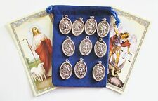 Wholesale Lot 10 New St. Michael Medals for Re-sell, Catholic, Christian
