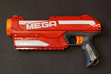 Red NERF N-STRIKE ELITE MEGA MAGNUS DART BLASTER TESTED toy gun ****************
