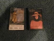 LOT 2 CASSETTE REBA MCENTIRE CASSETTES WHOEVERS IN NEW ENGLAND RUMOR HAS IT