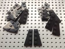 Lego Black 2x4 Wing Wedge Plate (41769 / 41770) x one pair *BRAND NEW* Star Wars