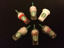 littlest Pet Shop Starbuck Frappuccino Drinks for LPS Pets X6 Delicious Flavors