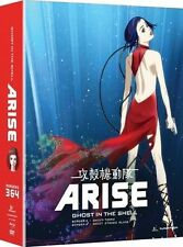 Ghost In The Shell - ARISE- Borders 3 & 4 BLUE RAY DVD COMBO PACK  FACTORY SEAL