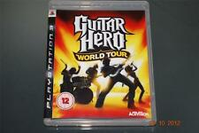 Guitar Hero World Tour Ps3 Playstation 3 ** GRATIS UK FRANQUEO!! **