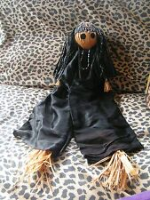 HAUNTED HUGE EVIL GOTHIC BLACK MAGICK WITCH VOODOO DOLL~ENEMY REVENGE~PROTECTION
