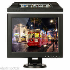 "12"" TFT LCD Monitor with HDMI/BNC/AV/VGA Input For Car/Security/Computer Screen"