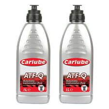 2 x Carlube ATF-Q Automatic Transmission Power Steering Fluid Dexron 2 - 1 Litre