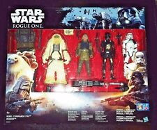 STAR WARS IMPERIAL DEATH TROOPER MOROFF STORMTROOPER PAO ROGUE ONE FIGURE 4 PACK