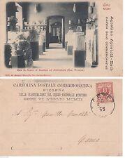 """# ESTE: COLLEZIONISTA 1906- CART- CON SOVRASTAMPA """"AGOSTINO APOSTOLI, CAMBIA..."""