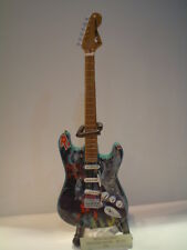 Miniature Guitar (24cm Tall) : IRON MAIDEN STRATOCASTER