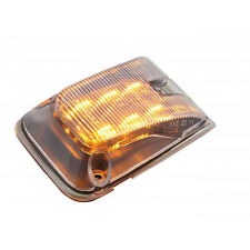 Volvo VNL 6 LED Side Indicator Marker Light with Clear Lens and Amber LEDs
