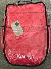 BNWT ICandy, Red Footmuff, Apple 2 Pear Apple, Pear, Cherry, Peach, Strawberry