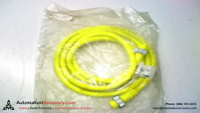 COOPER CROUSE-HINDS 5000109-26 CORDSET MINI 3 POLE M/F ST/ST 6', NEW #144270