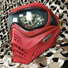 NEW V-Force Grill Thermal Anti-Fog Paintball Mask Goggle - SE Red/Red
