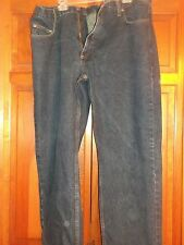 Nice Members Mark Mens Blue Denim Jeans Dark Wash 44 x 30 Nice Comfort Pants EUC